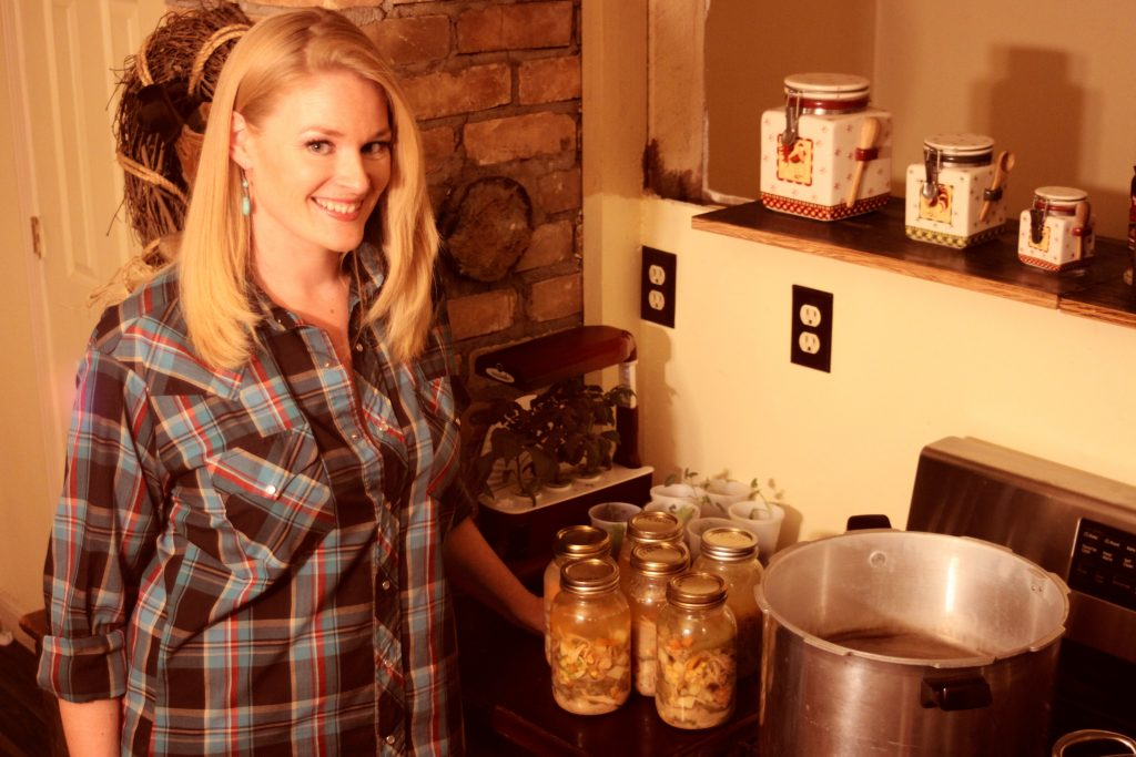 chicken soup canning image