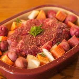 grass fed beef pot roast