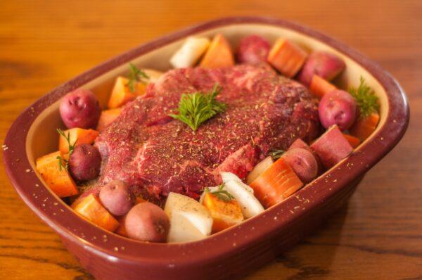 grass fed beef pot roast