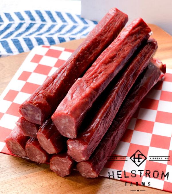 100% grass fed beef sticks
