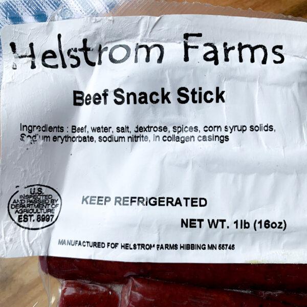 Original grass fed beef sticks