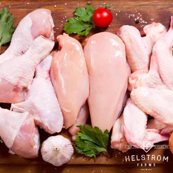 non-GMO chicken pieces