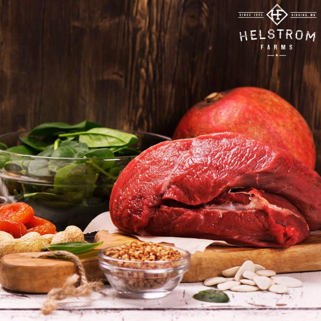 grass-fed beef heart
