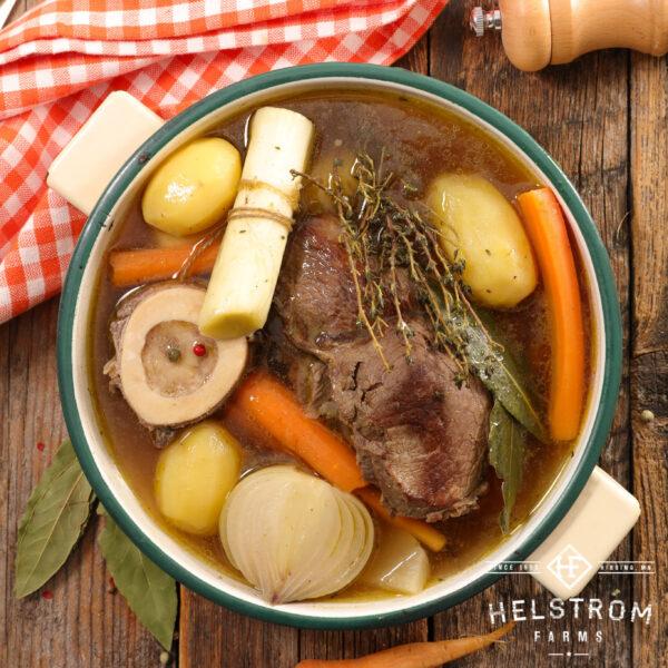 Meaty soup bones