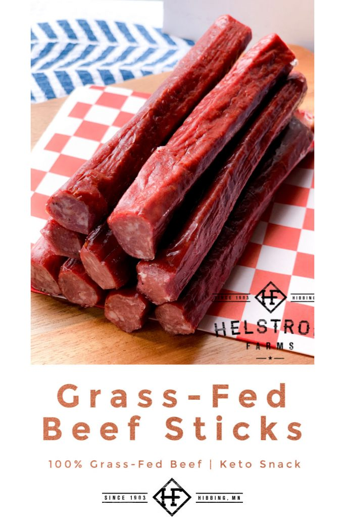 grass fed beef sticks
